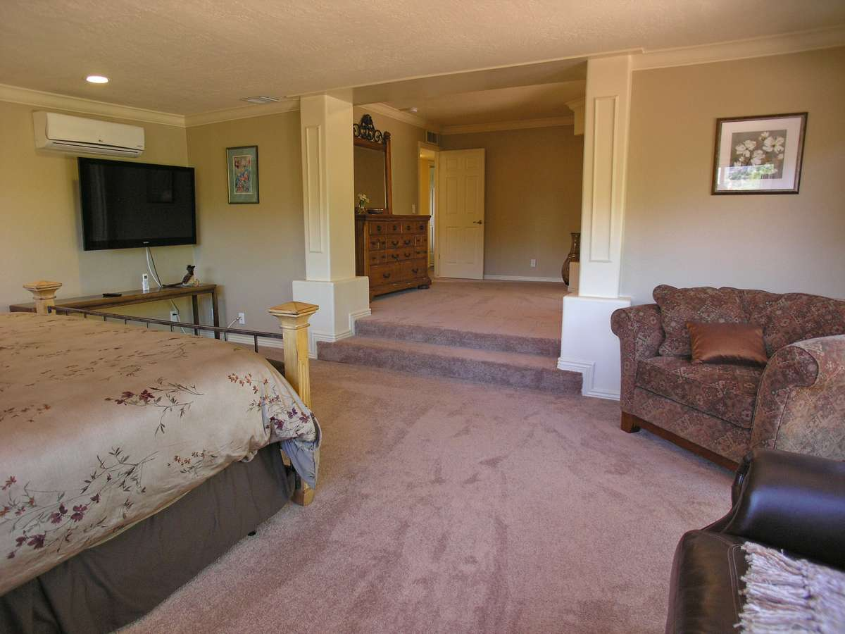 Copper Star Master Bedroom Sedona Vacation Rental Red Rock Realty