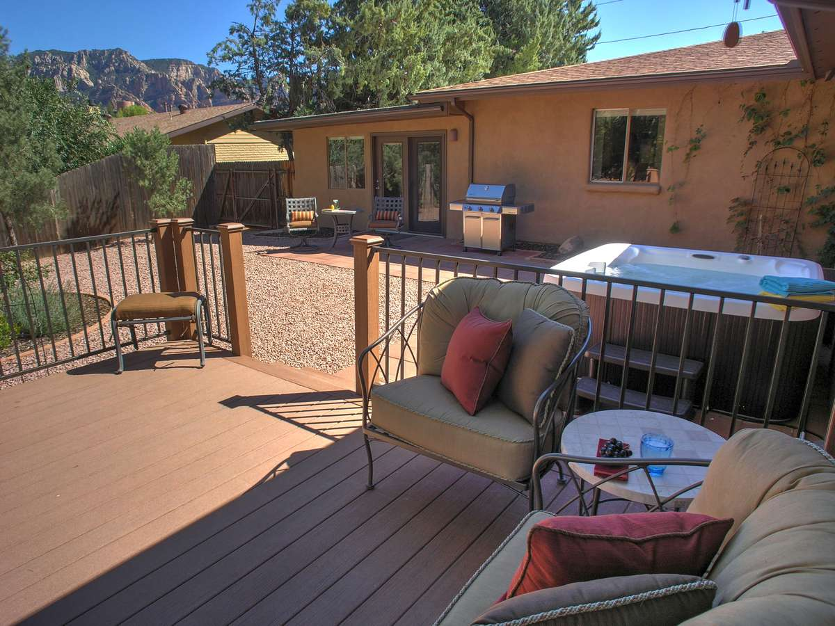 Copper Star: Views and Outdoor Spaces- Sedona Vacation ...