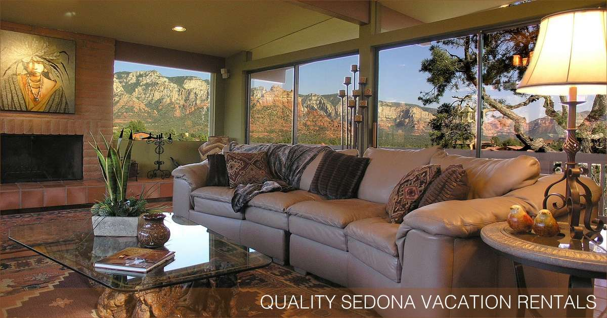 Quality sedona vacation rentals in the sedona arizona for Cabin in sedona az