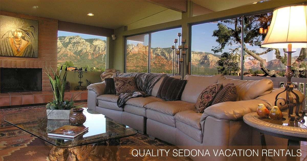 Quality Sedona Vacation Rentals in the Sedona, Arizona area